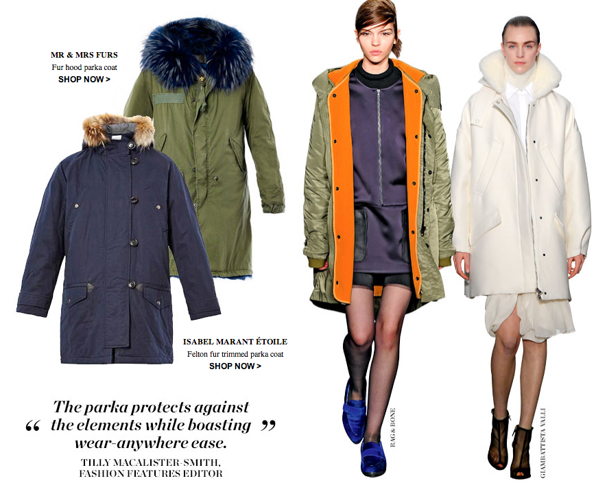 matchesfashion parka