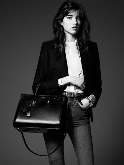 5-Saint-Laurent-Pre-fall-2014-Ad-Campaign-Sac-du-Jour-Bag-600x798