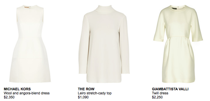 Winter White | NET-A-PORTER.COM